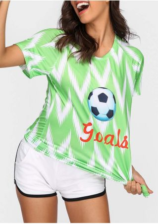 Nigeria Football Team Goal T-Shirt