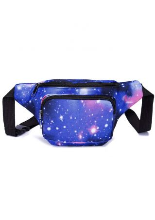 Star Leaf Adjustable Strap Fanny Pack