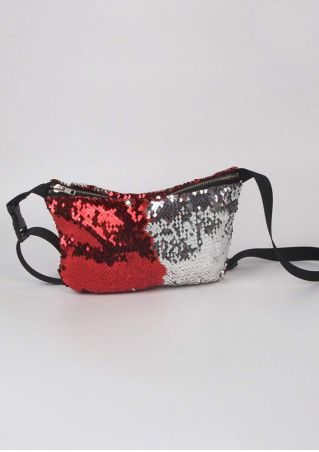 Mermaid Sequined Adjustable Fanny Pack