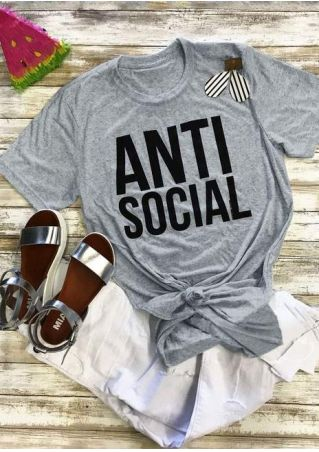 Anti Social Short Sleeve T-Shirt