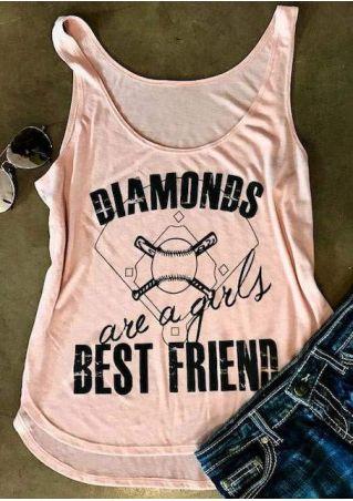 Diamonds Are A Girls Best Friend Tank