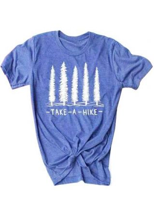 Take A Hike Tree T-Shirt