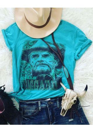 Merle Haggard Short Sleeve T-Shirt