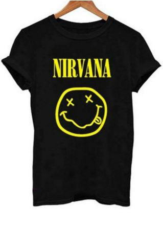 Nirvana Short Sleeve O-Neck T-Shirt