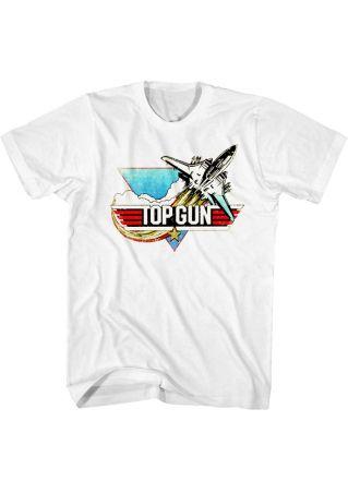 Top Gun Aircraft Star T-Shirt