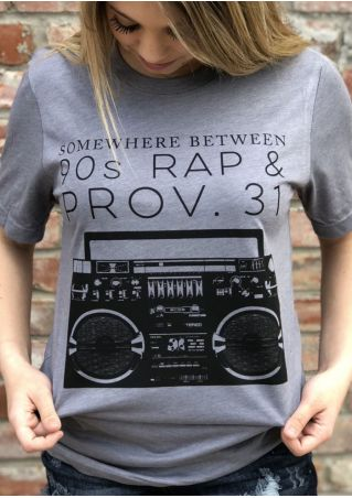 Somewhere Between 90s Rap & Prov 31 T-Shirt