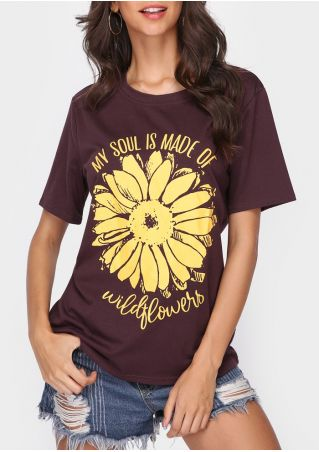 My Soul Is Made Of Wildflowers T-Shirt