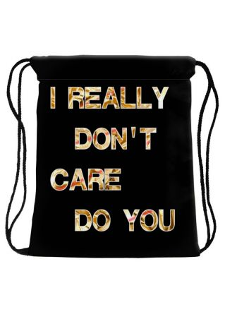 I Really Don't Care Do You Backpack