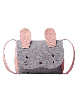 Bunny Shaped PU Crossbody Bag