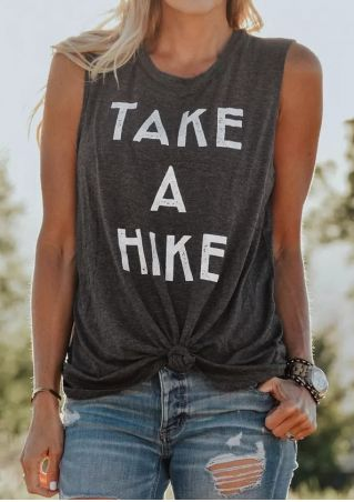 Take A Hike O-Neck Tank