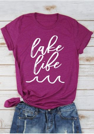 Lake Life Short Sleeve T-Shirt