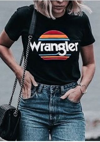 Wrangler Sunset Short Sleeve T-Shirt