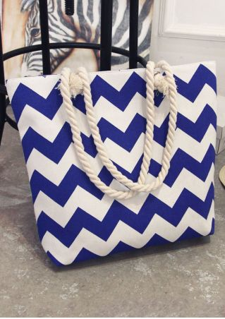 Zigzag Zipper Hangbag Shoulder Bag