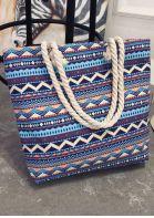 Geometric Zipper Handbag Shoulder Bag