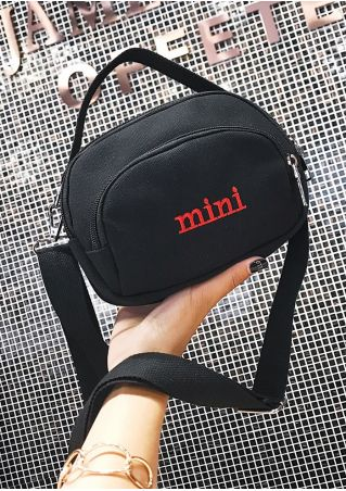 Mini Zipper Crossbody Bag Handbag