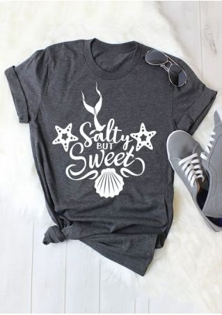 Salty But Sweet Shell Starfish T-Shirt
