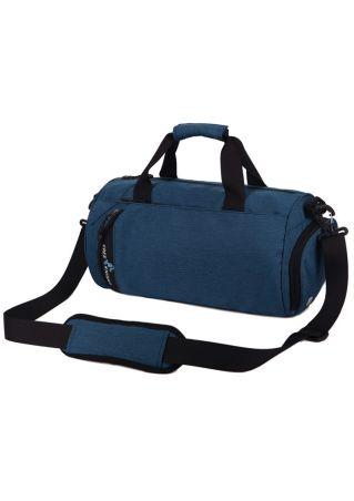 Zipper Adjustable Strap Crossbody Bag