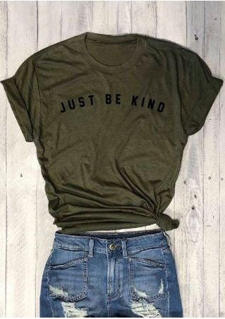 Just Be Kind Short Sleeve T-Shirt