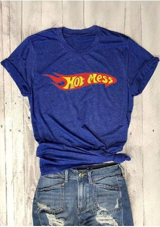 Hot Mess Short Sleeve T-Shirt