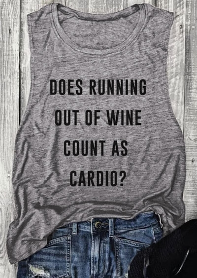 Does Running Out Of Wine Count As Cradio Tank