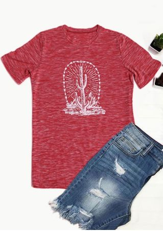 Arrow Cactus Mountain Short Sleeve T-Shirt