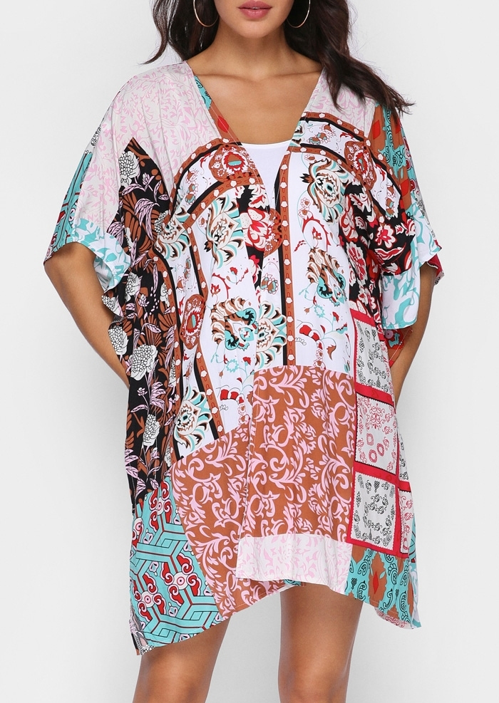 Shoulder surgery Deep V Neck Floral Printed Blouses york plus volleyball images