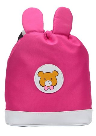 Bear Rabbit Ear Drawstring Backpack