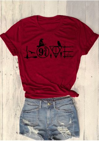 Love Harry Potter Witch Hat T-Shirt
