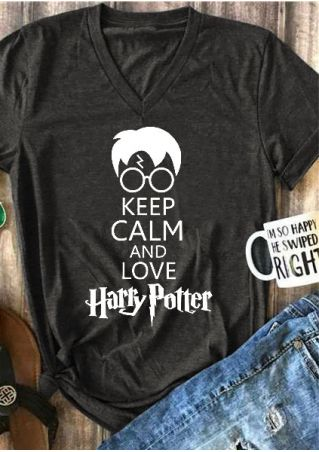 Keep Calm And Love Harry Potter T-Shirt