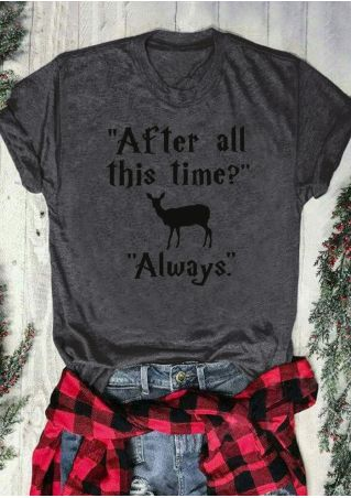 After All This Time Always Harry Potter T-Shirt