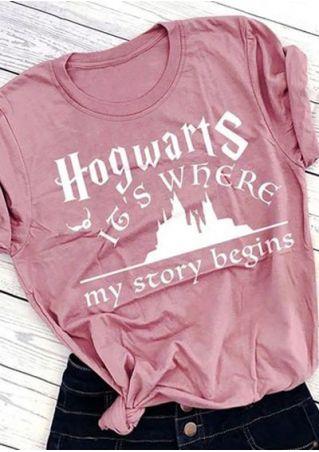 Hogwarts It's Where My Story Begins Harry Potter T-Shirt