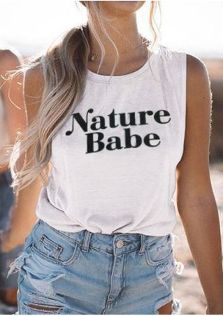 Nature Babe Tank without Necklace
