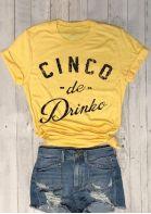 Cinco De Drinko Short Sleeve T-Shirt