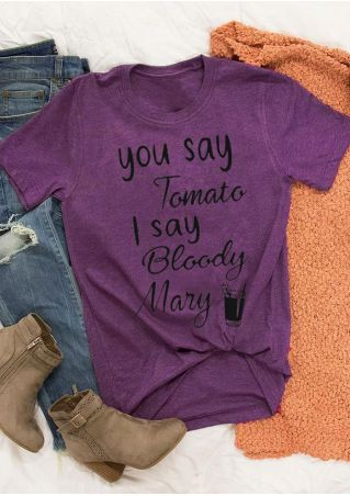You Say Tomato I Say Bloody Mary T-Shirt