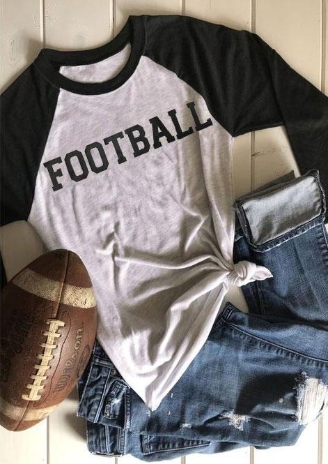 Football Is My Second Favorite F Word Baseball T-Shirt 418203