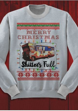 Merry Christmas Shitter's Full Sweatshirt