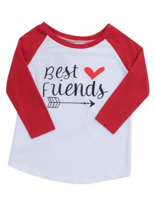 Kids Best Friends Baseball T-shirt
