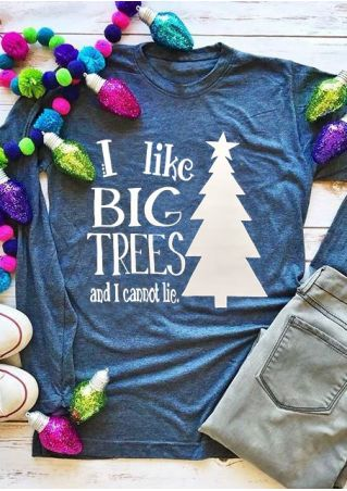 Christmas I Like Big Trees T-Shirt
