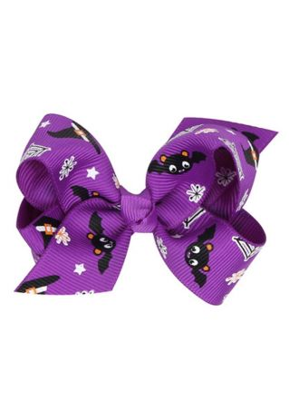 Kid Halloween Bowknot Hair Accessory