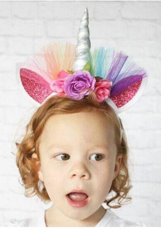 Halloween Colorful Unicorn Hairband