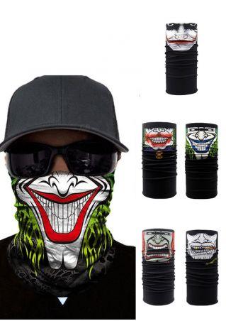 Halloween 3D Magic Headband  Face Mask Scarf