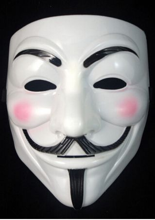 Halloween Cosplay V For Vendetta Mask