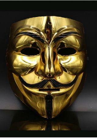Halloween Masquerade Cosplay V For Vendetta Mask
