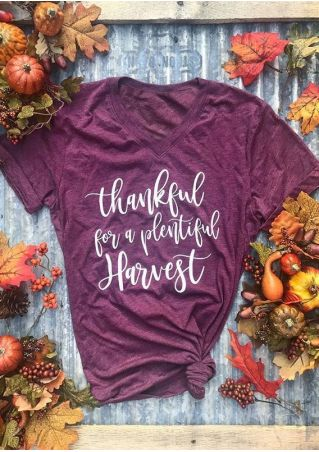 Thankful For A Plentiful Harvest T-Shirt