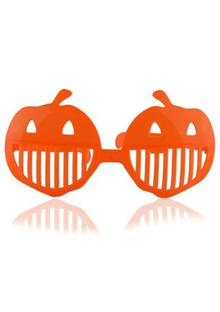 Solid Hollow Out Pumpkin Glasses