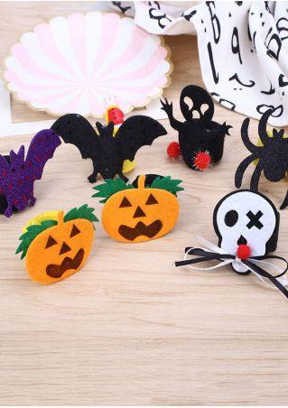 Halloween Bat Spider Slap Bracelet