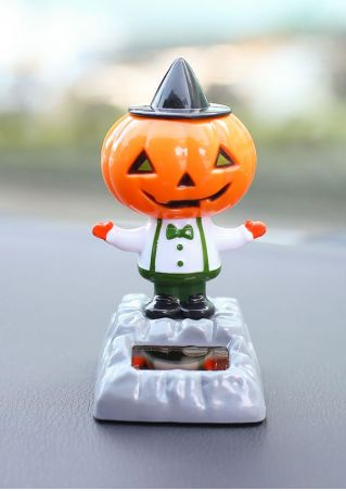 Solar Powered Auto Swing Halloween Doll
