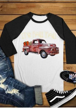 It's Fall Y'all Car Baseball T-Shirt