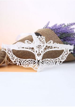 Solid Lace Party Masquerade Mask