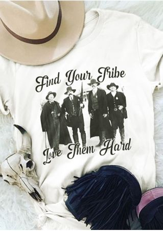 Find Your Tribe Love Them Hard T-Shirt